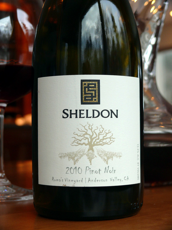 Sheldon Pinot Noir, Roma's Vineyard