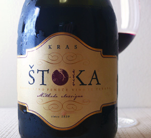 Ten Favorite Wines of 2014, Number One: Štoka Sparkling Teran Méthode Classique