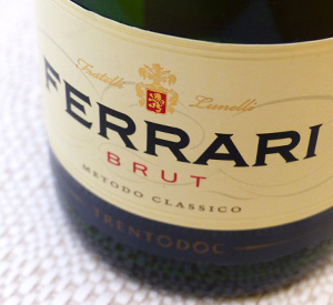 Ten Favorite Wines of 2014, Number Three: NV Ferrari Brut Trentodoc