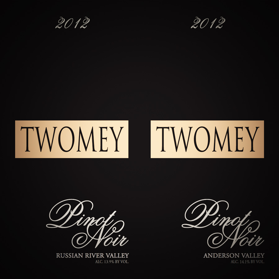 Two Times Twomey Cellars Pinot Noir