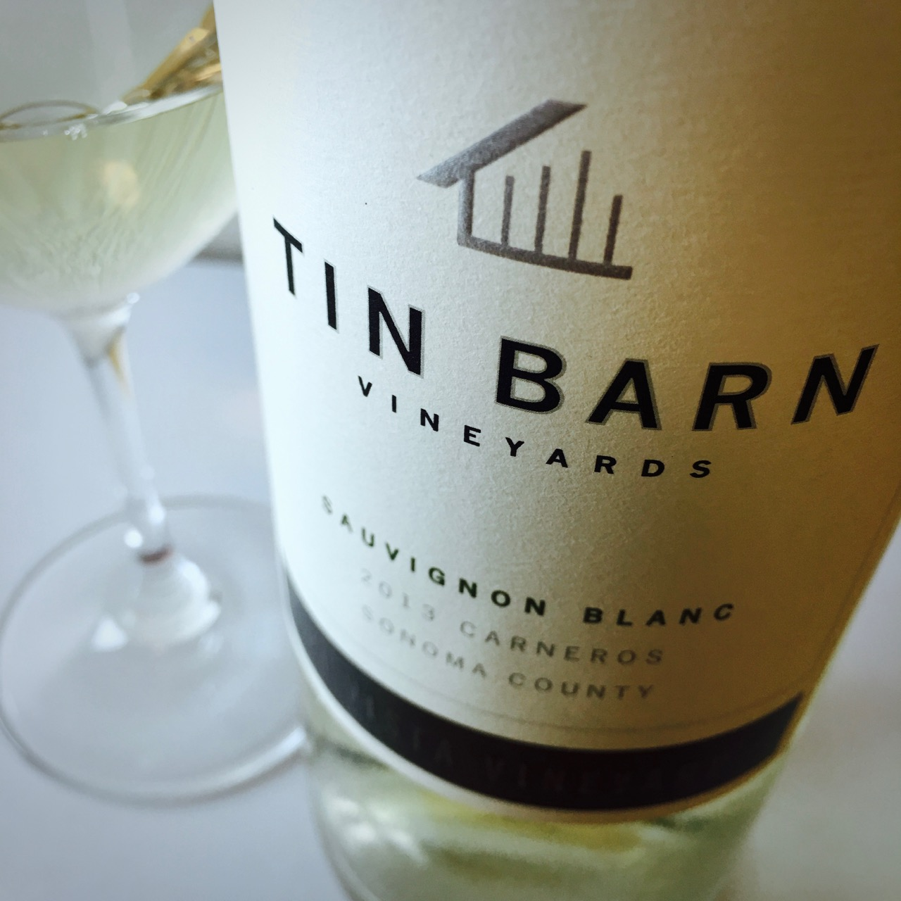 2013 Tin Barn Vineyards Sauvignon Blanc Hi Vista Vineyard Carneros, Sonoma County