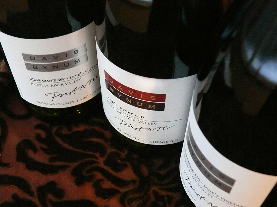 Davis Bynum Pinot Noir, Theme and Variations