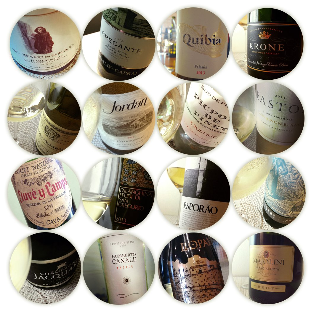 Regulation Whites: Sixteen White Wines for Summertime