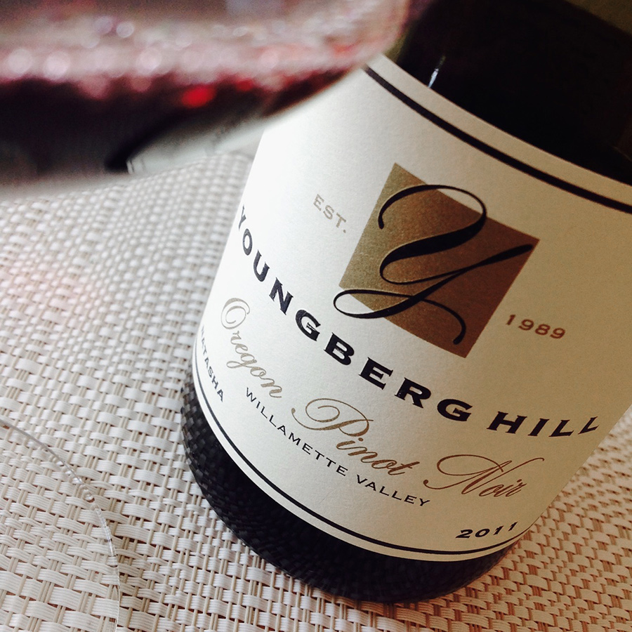 2011 Youngberg Hill Pinot Noir Natasha Block Willamette Valley