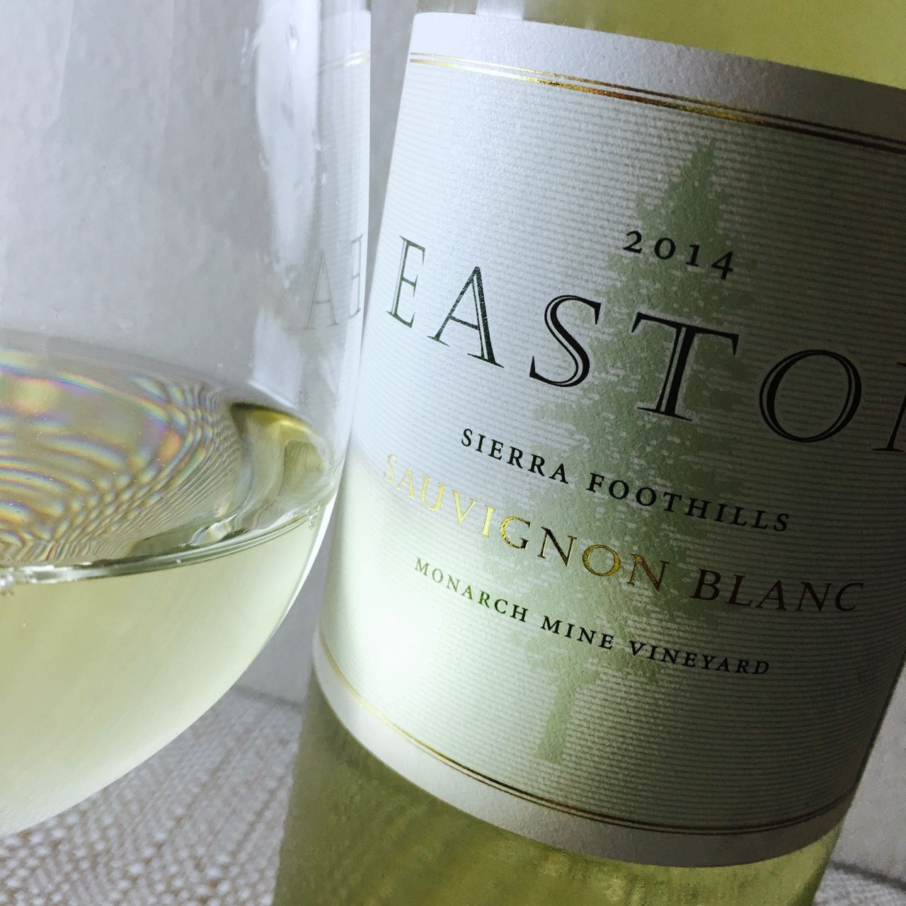 2014 Easton Sauvignon Blanc Monarch Mine Vineyard Sierra Foothills