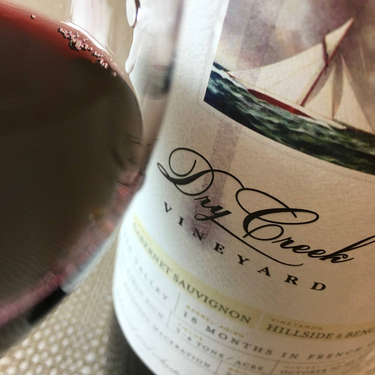 2012 Dry Creek Vineyard Cabernet Sauvignon Dry Creek Valley