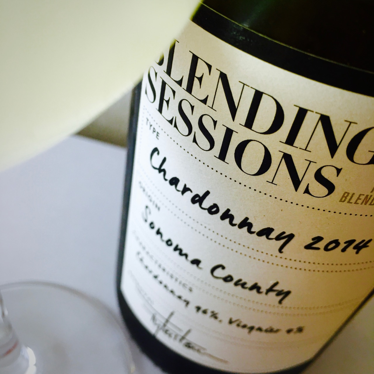 2014 Blending Sessions Chardonnay Sonoma County