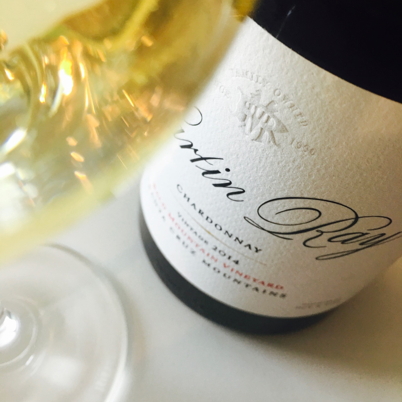 2014 Martin Ray Winery Chardonnay Bald Mountain Vineyard Santa Cruz Mountains