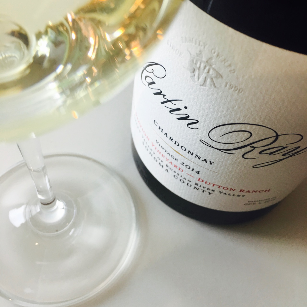 2014 Martin Ray Winery Chardonnay Mill Station Vineyard Dutton Ranch, Green Valley of Russian River Valley, Sonoma County