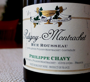 "Ten Favorite Wines of 2014, Number Seven: 2009 Philippe Chavy Puligny-Montrachet ""Rue Rousseau"""
