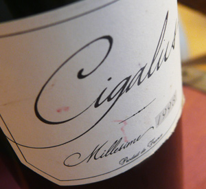 Ten Favorite Wines of 2014, Number Nine: 2008 Domaine de Cigalus Rouge Pays d'Oc