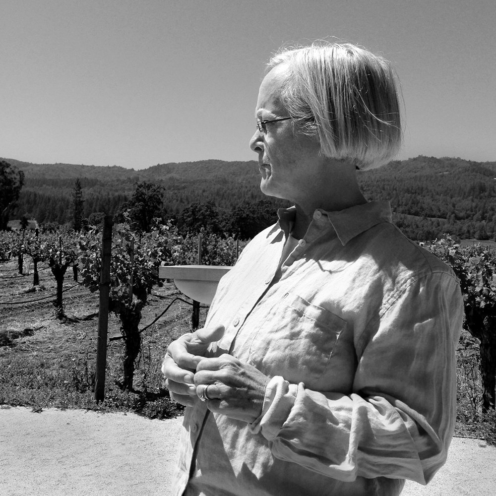Cathy Corison in her Kronos Vineyard