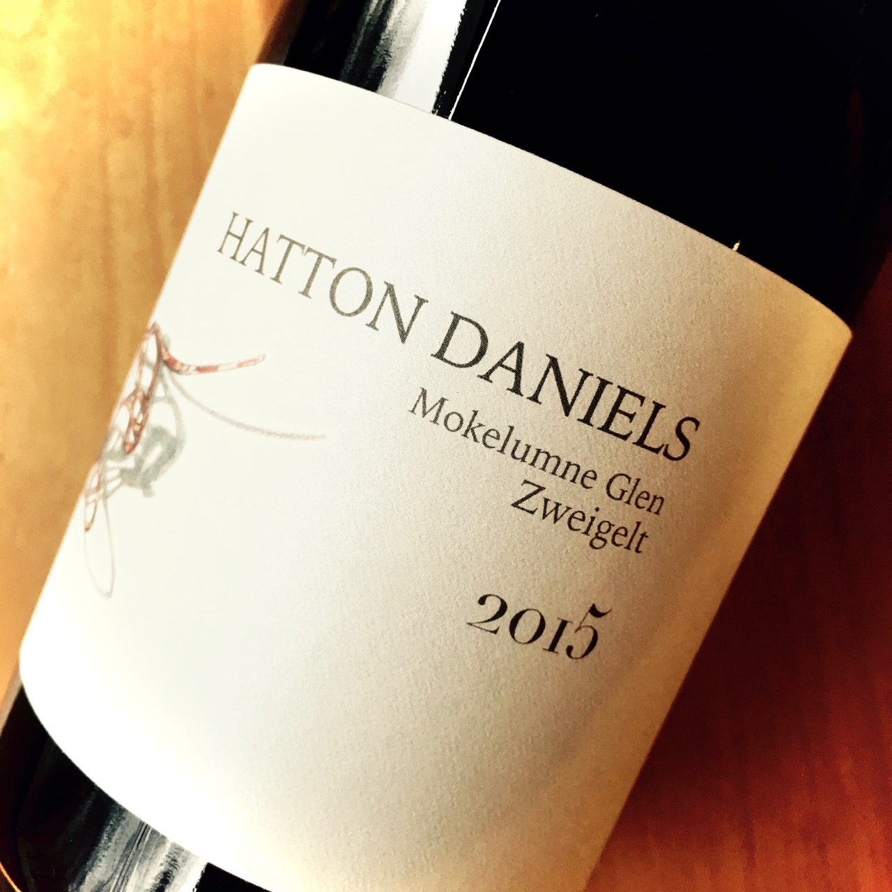2015 Hatton Daniels Wine Cellars Zweigelt Lodi