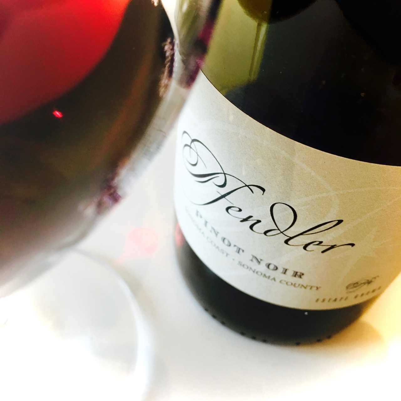 2014 Pfendler Vineyards Pinot Noir Sonoma Coast, Sonoma County