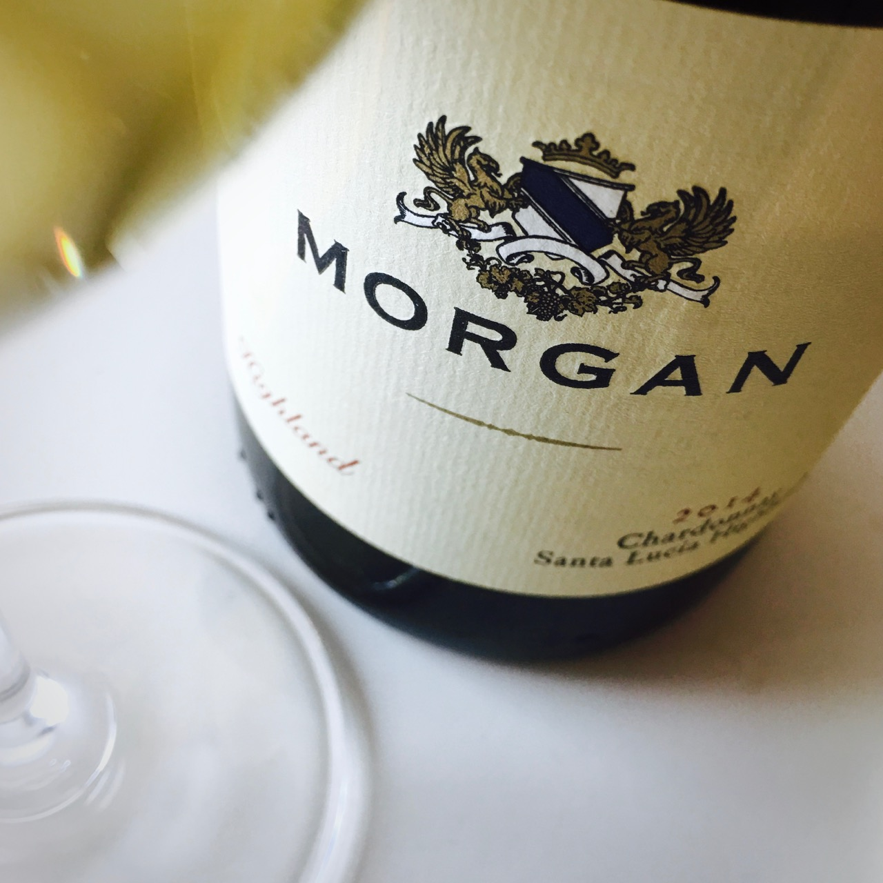 2014 Morgan Winery Chardonnay Highland Santa Lucia Highlands