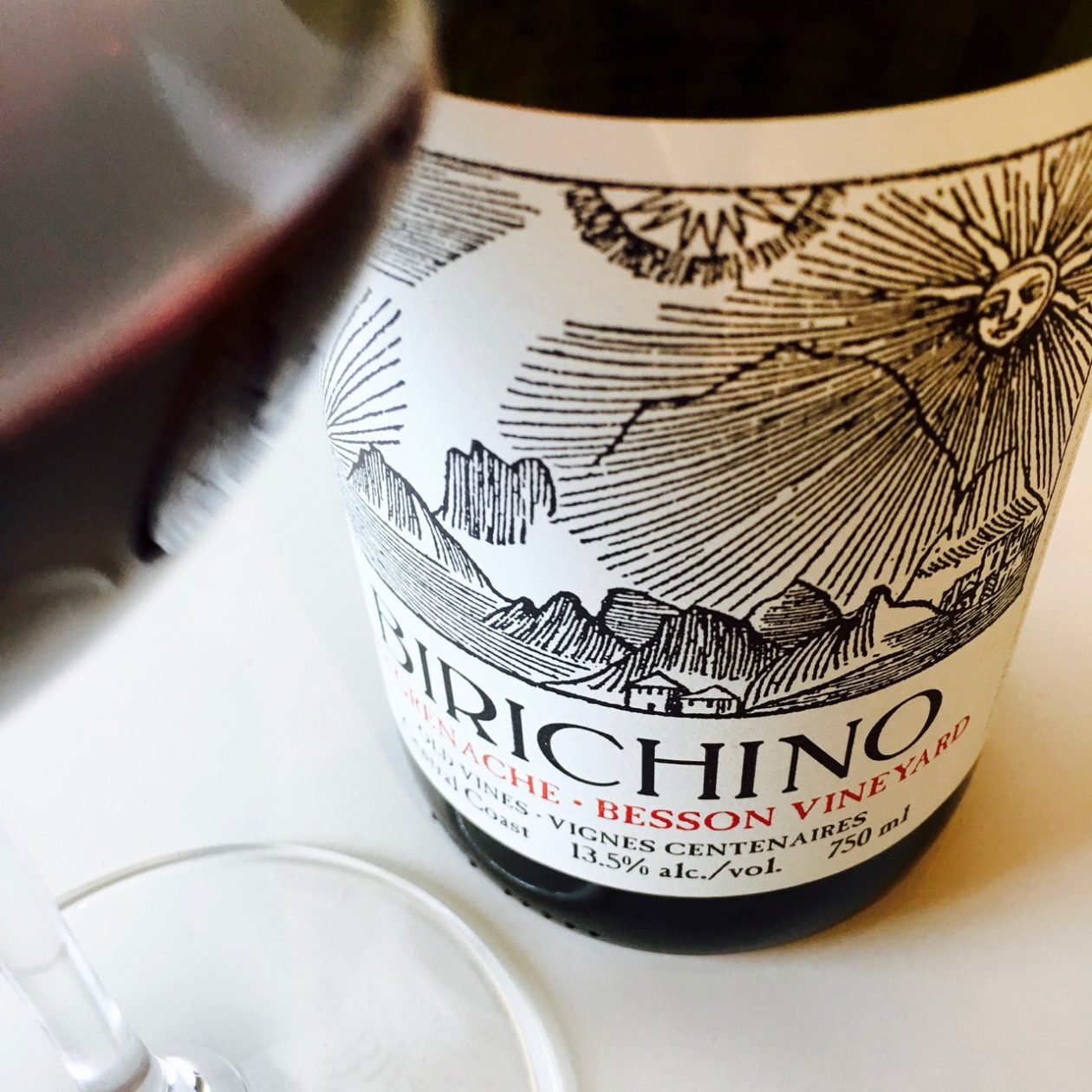 2013 Birichino Old Vines Grenache Besson Vineyard Central Coast