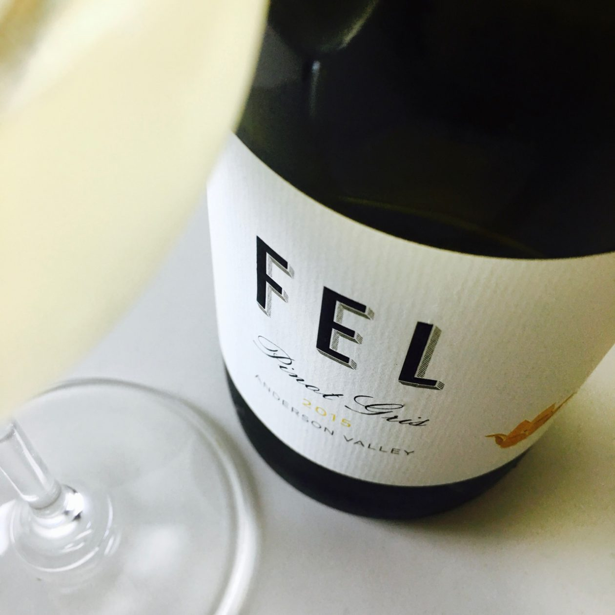 2015 FEL Pinot Gris Anderson Valley