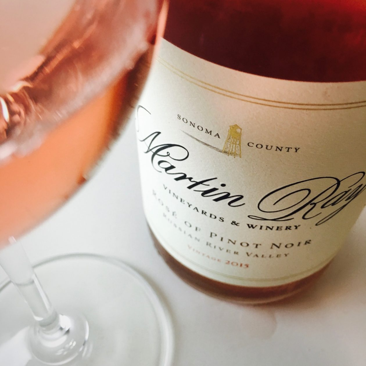 2015 Martin Ray Vineyards and Winery Rosé of Pinot Noir Russian River Valley