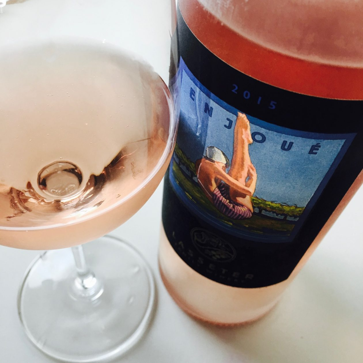 2015 Lasseter Family Winery Rosé Enjoué Sonoma Valley