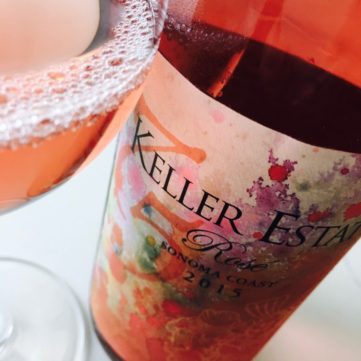 2015 Keller Estate Rosé Sonoma Coast, Sonoma County