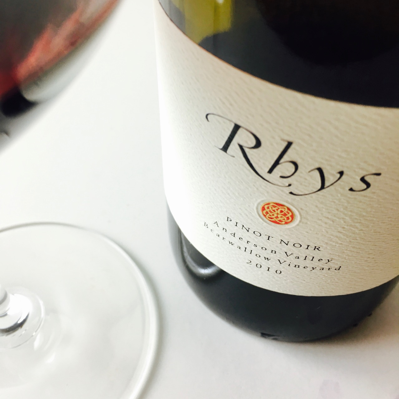 2010 Rhys Vineyards Pinot Noir Bearwallow Vineyard Anderson Valley