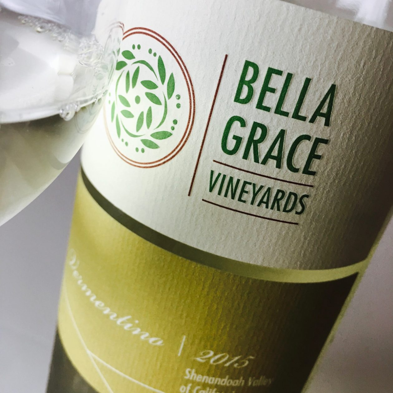 2015 Bella Grace Vineyards Vermentino Amador County