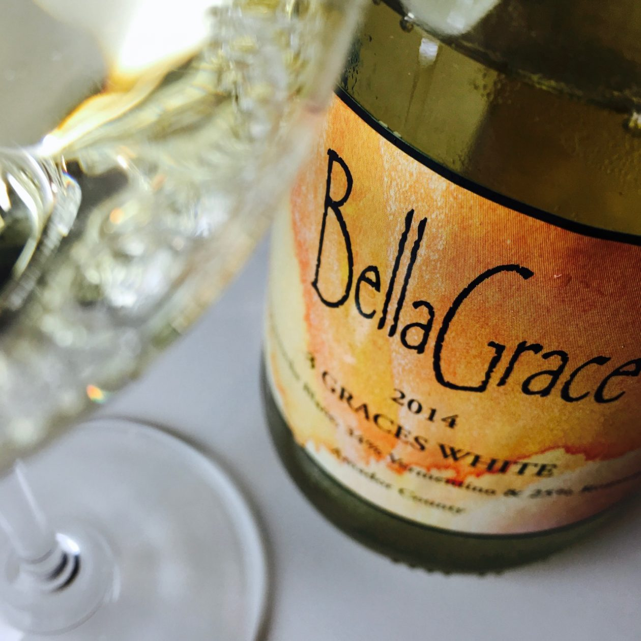 2014 Bella Grace Vineyards Three Graces White Blend Amador County