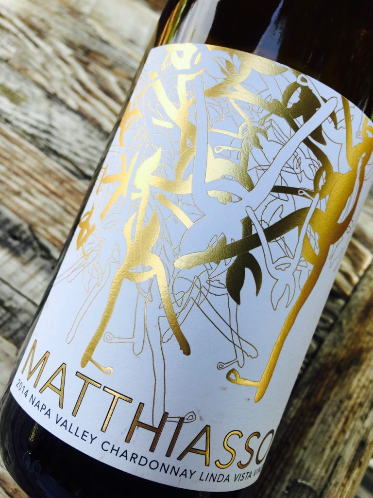 2014 Matthiasson Chardonnay Linda Vista Vineyard Napa Valley