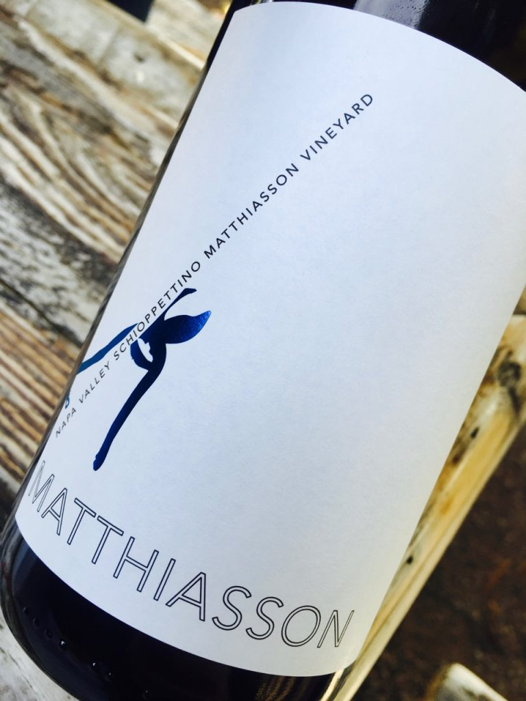 NV Matthiasson Schioppettino Matthiasson Vineyard Napa Valley