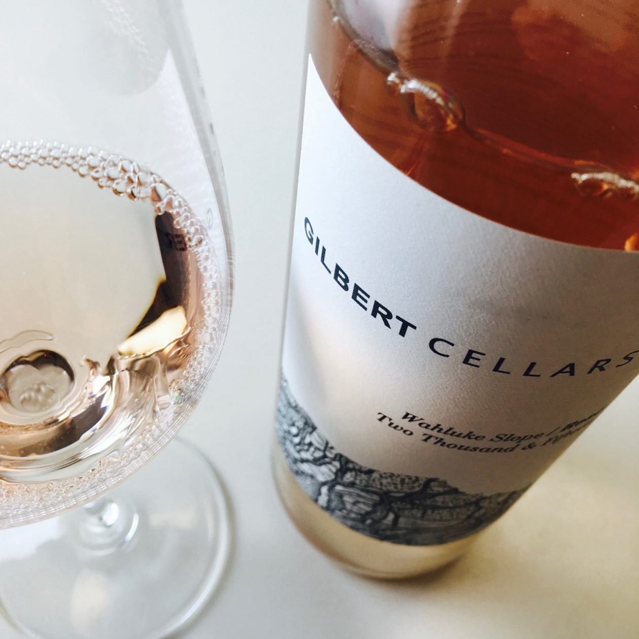2015 Gilbert Cellars Rosé Wahluke Slope