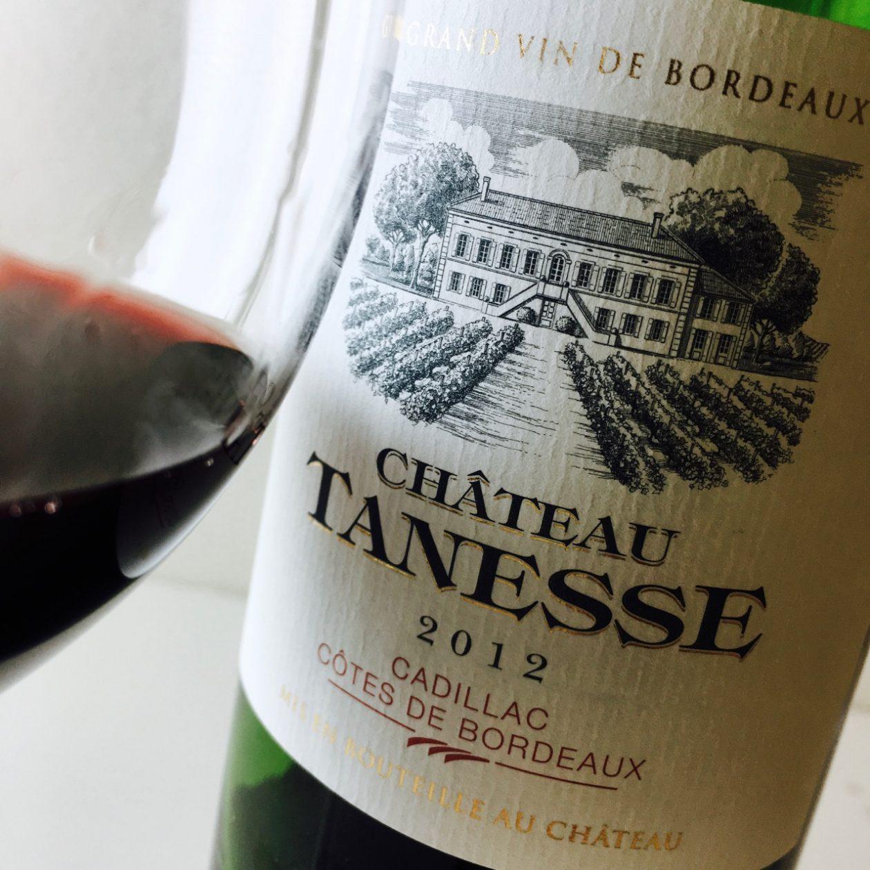2012 Château Tanesse Cadillac Côtes de Bordeaux