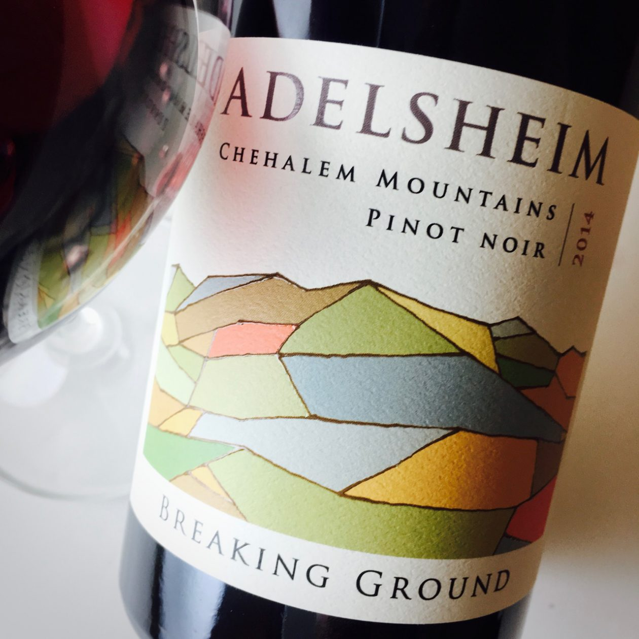 2014 Adelsheim Pinot Noir Breaking Ground Chehalem Mountains