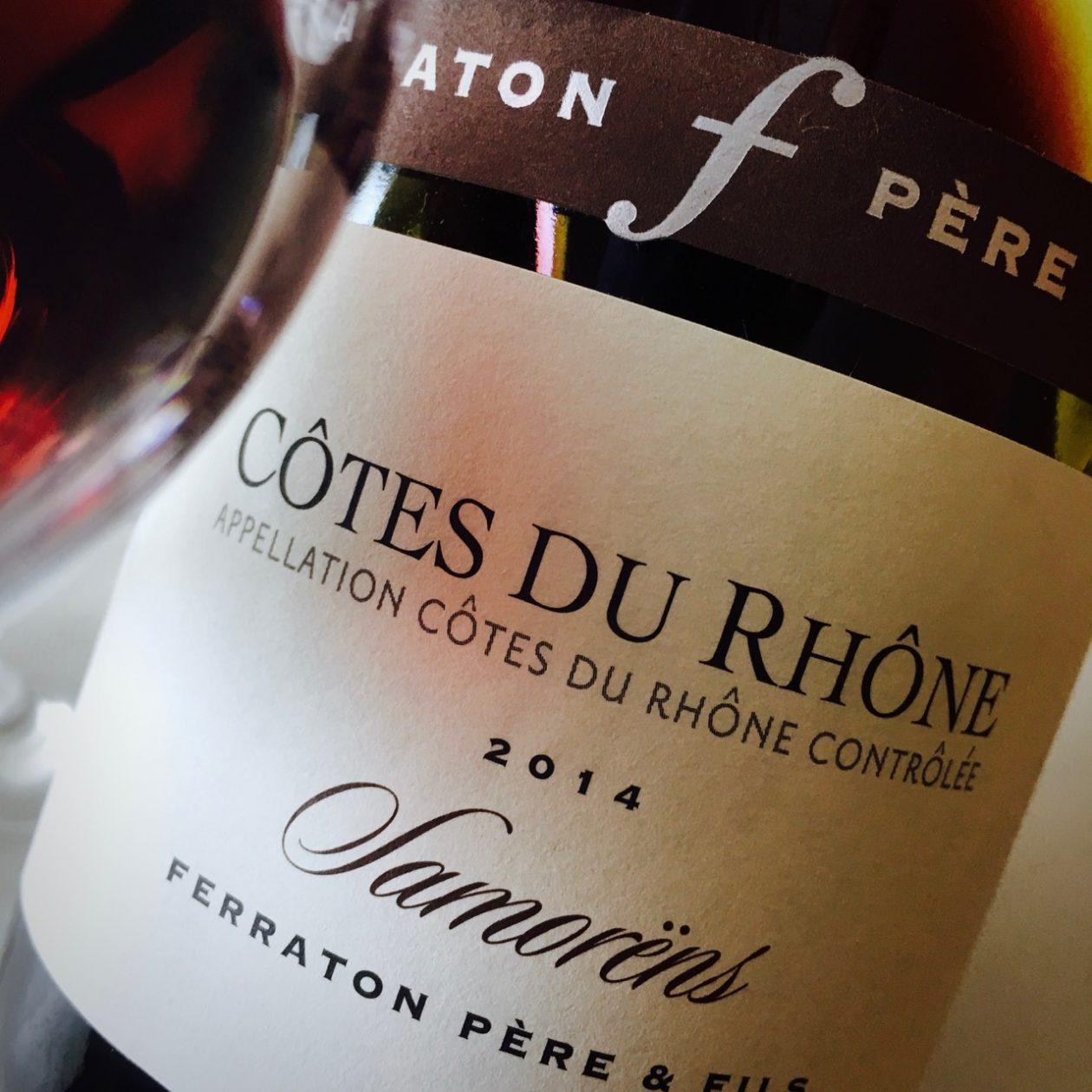 2014 Ferraton Père et Fils Samorëns Rouge Côtes du Rhône