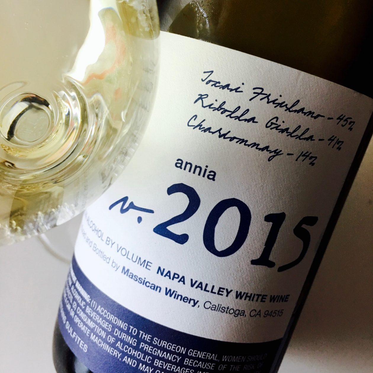 2015 Massican White Blend Annia Napa Valley