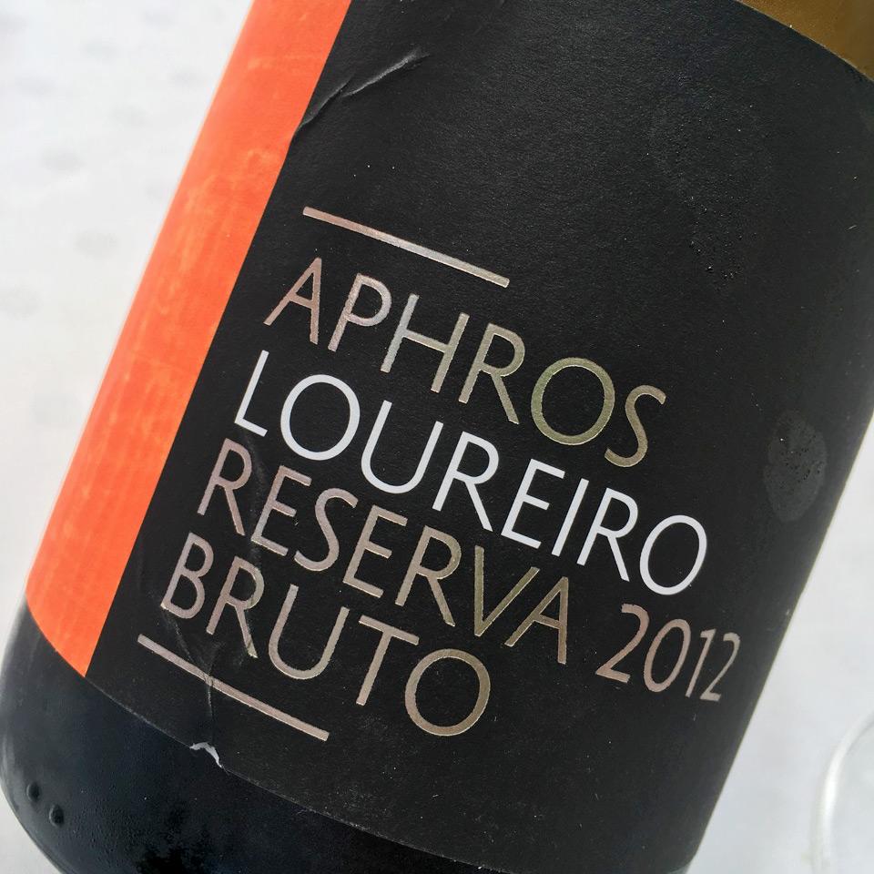 2012 Aphros Loureiro Bruto Reserva Espumante Sub-Região Lima, Vinho Verde DOC