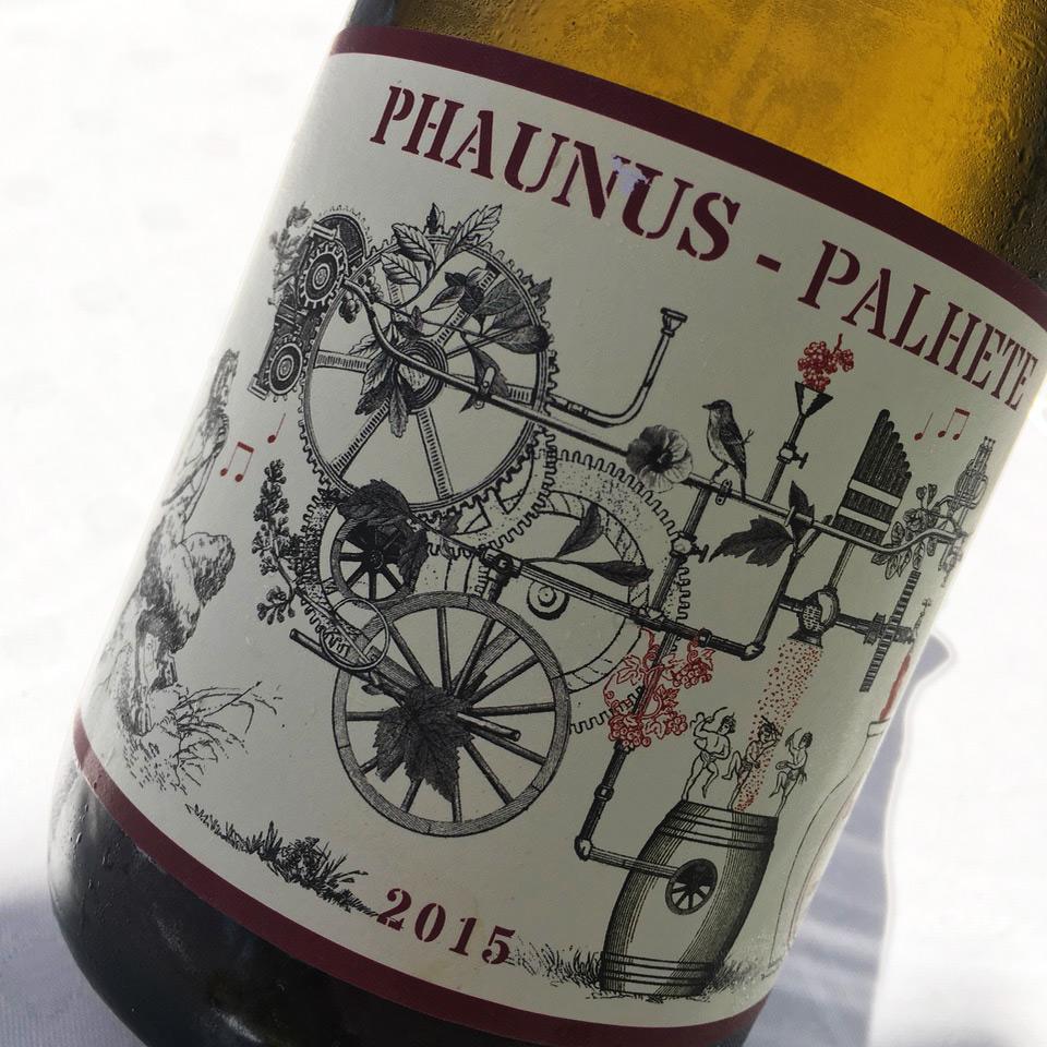 2015 Aphros Phaunus Palhete Sub-Região Lima, Vinho Verde DOC