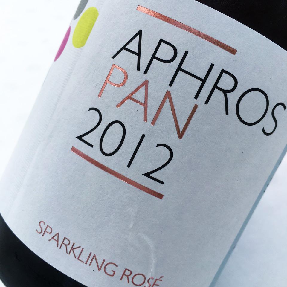 2012 Aphros Pan Vinho Espumante Rosé Sub-Região Lima, Vinho Verde DOC