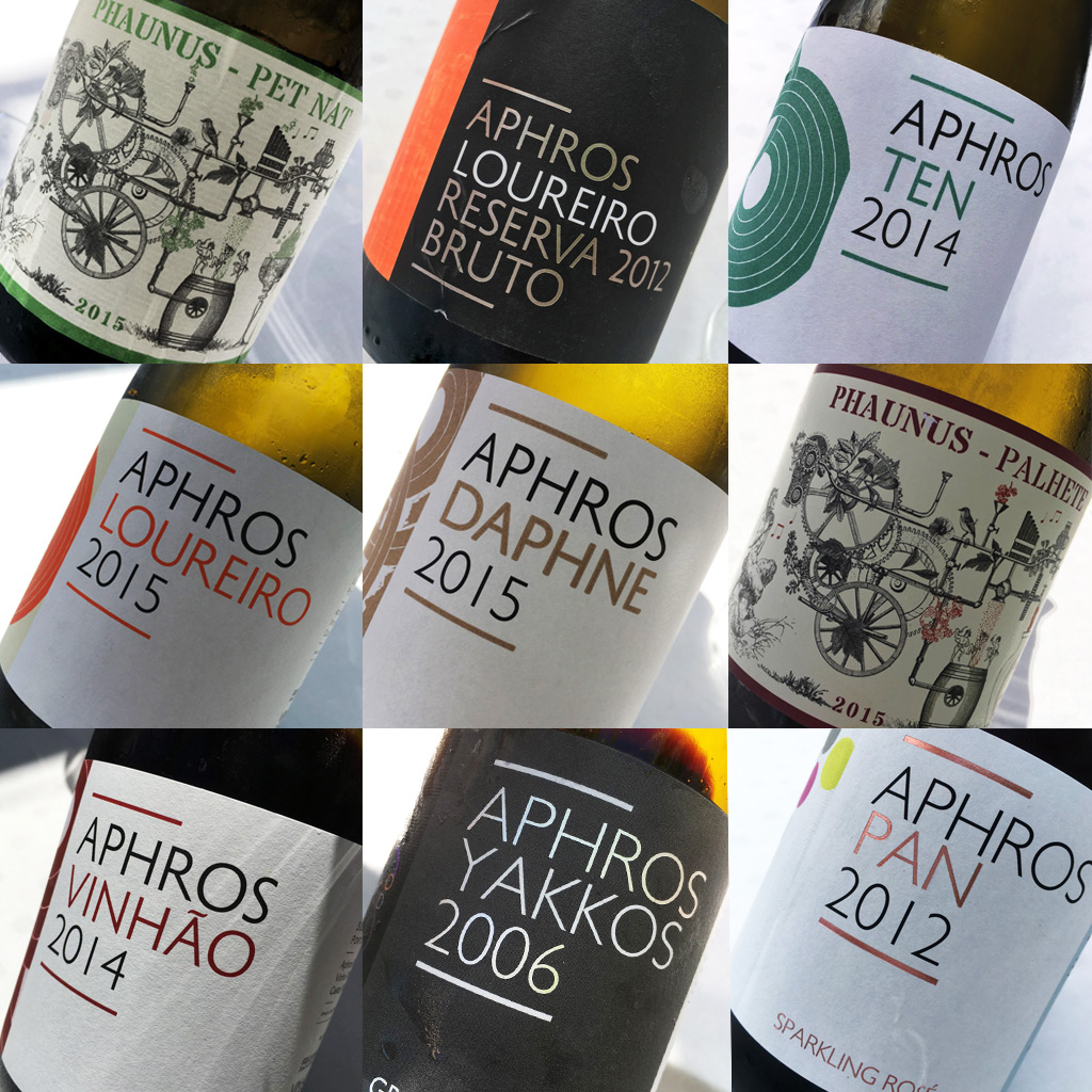 Nine wines of Aphros