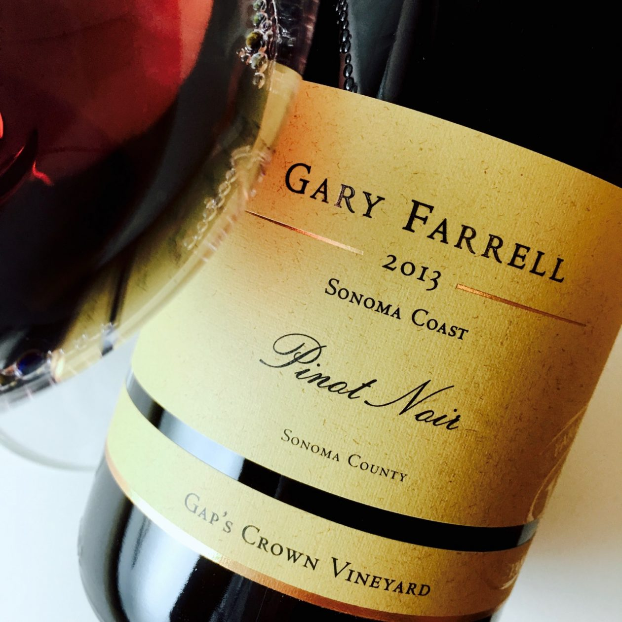 2013 Gary Farrell Pinot Noir Gap's Crown Vineyard Sonoma Coast, Sonoma County