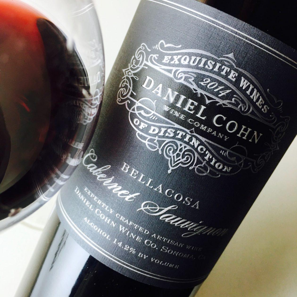 2014 Daniel Cohn Wine Company Cabernet Sauvignon Bellacosa North Coast