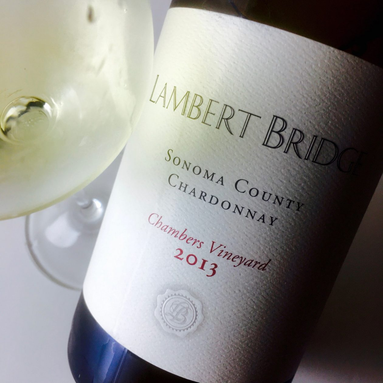 2013 Lambert Bridge Chardonnay Chambers Vineyard Sonoma County