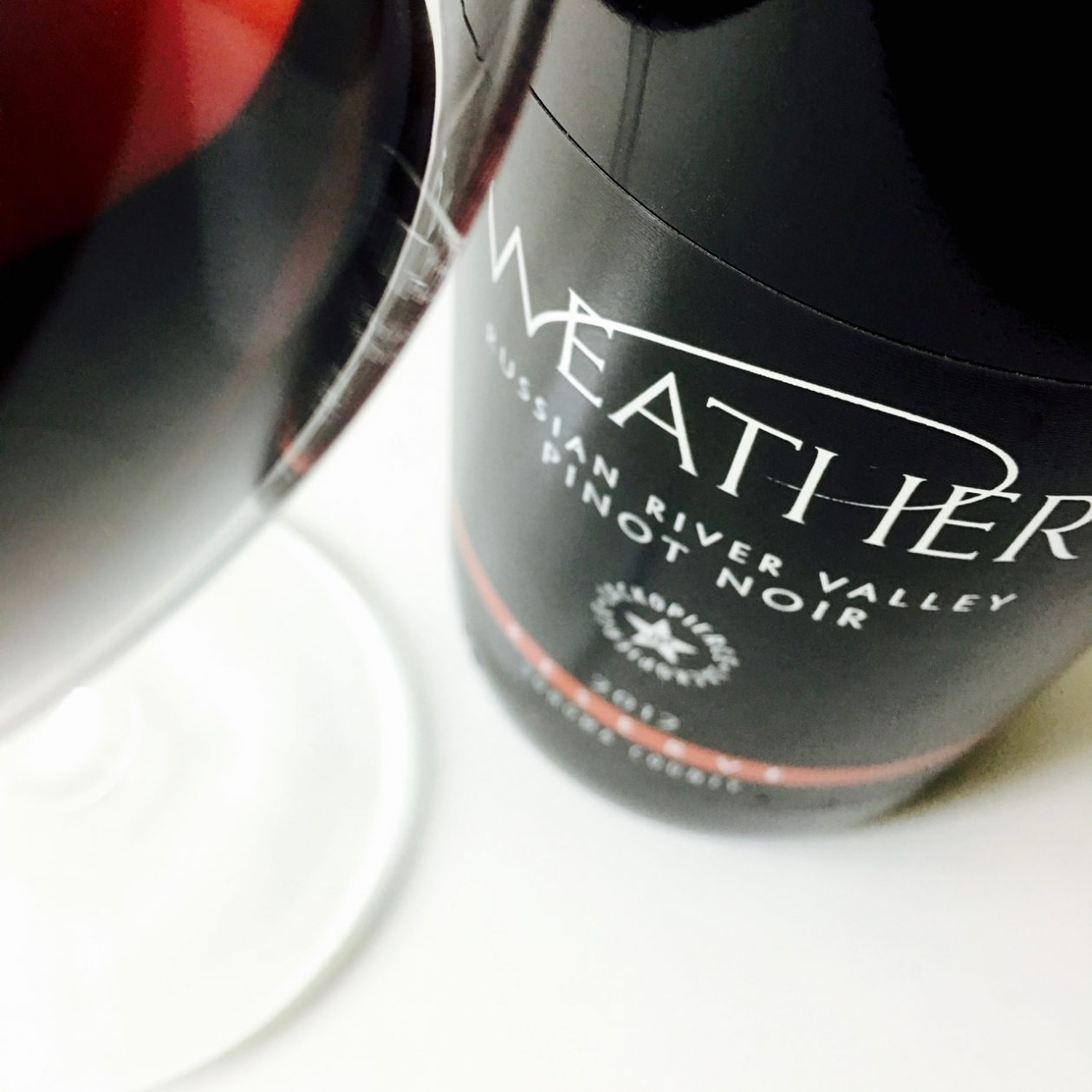 2012 Weather Pinot Noir Reserve Russian River Valley, Sonoma County
