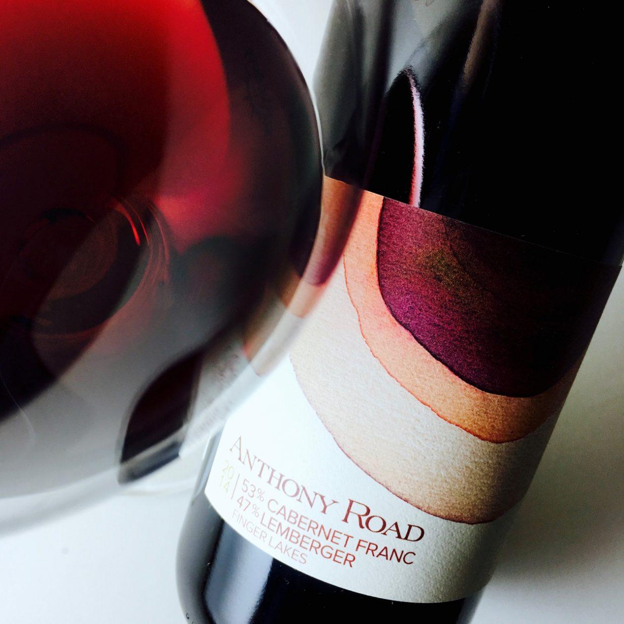 2014 Anthony Road Wine Company Cabernet Franc Lemberger Finger Lakes