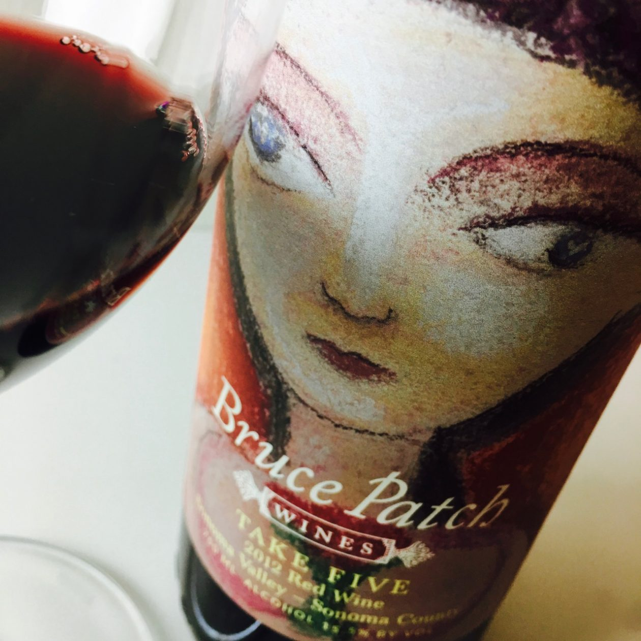 2012 Bruce Patch Wines Red Blend Take Five Sonoma Valley, Sonoma County