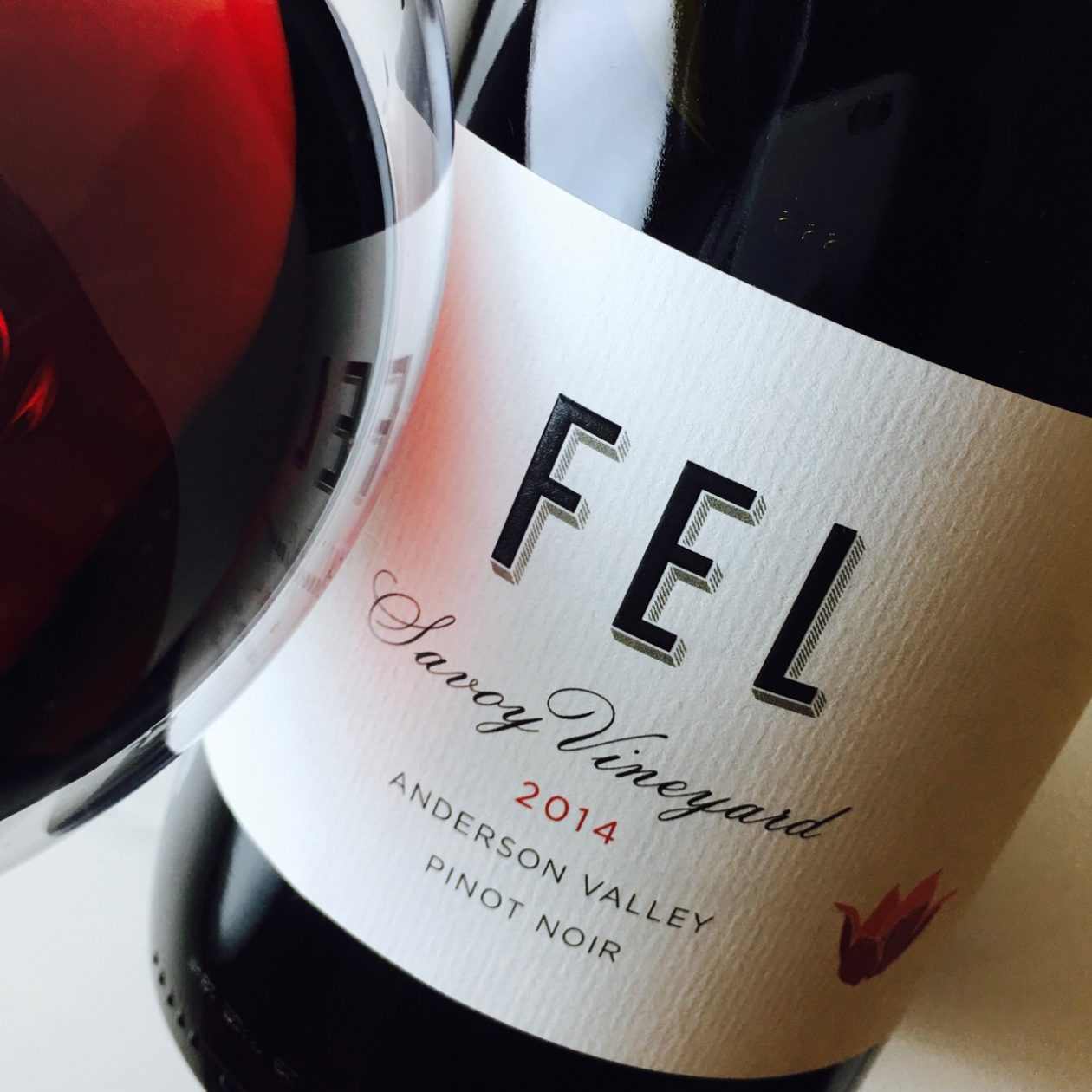 2014 FEL Pinot Noir Savoy Vineyard Anderson Valley