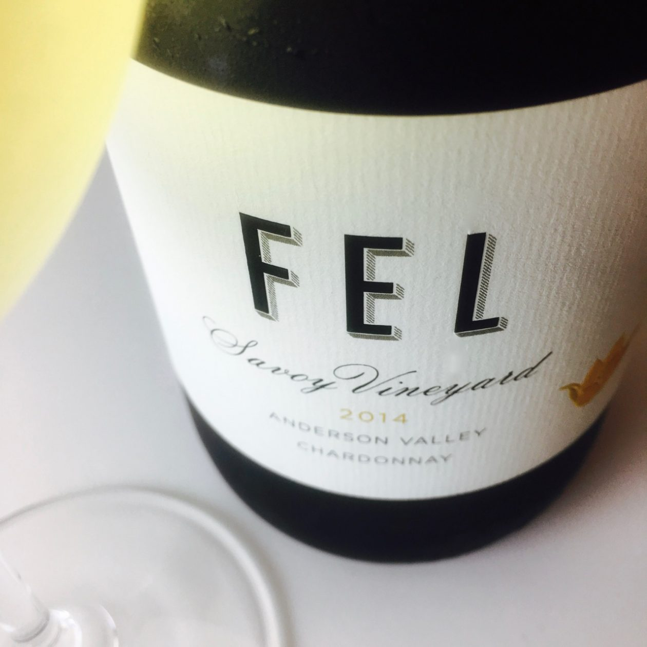2014 FEL Chardonnay Savoy Vineyard Anderson Valley
