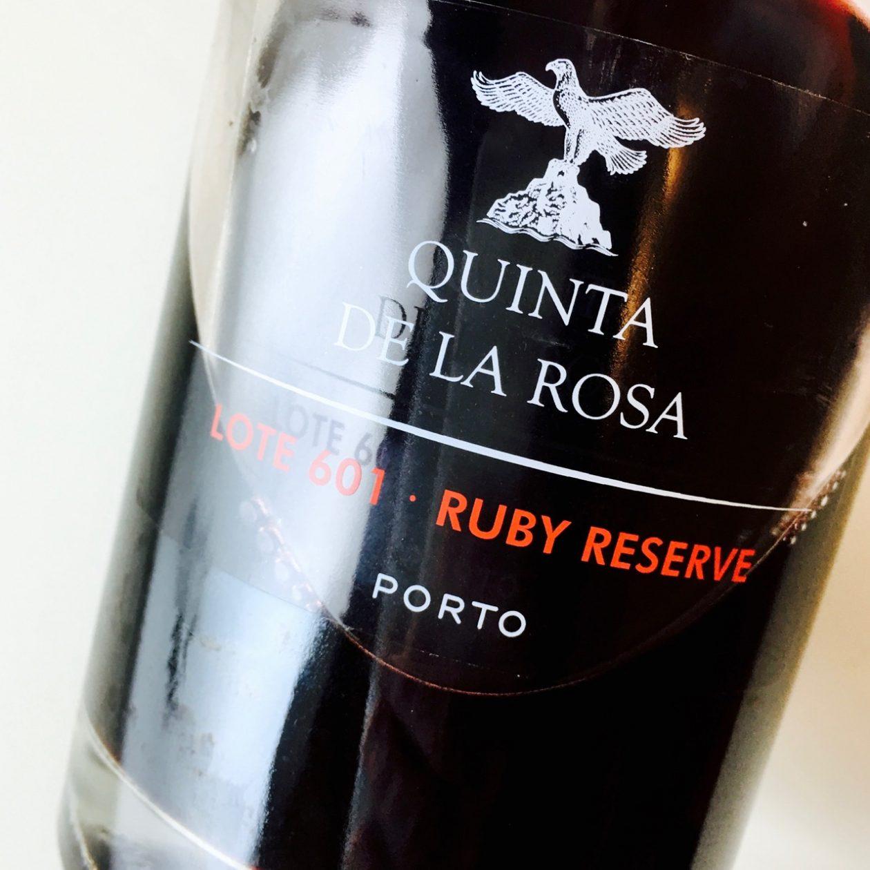 NV Quinta de la Rosa Lote 601 Ruby Reserve Port Porto DOC