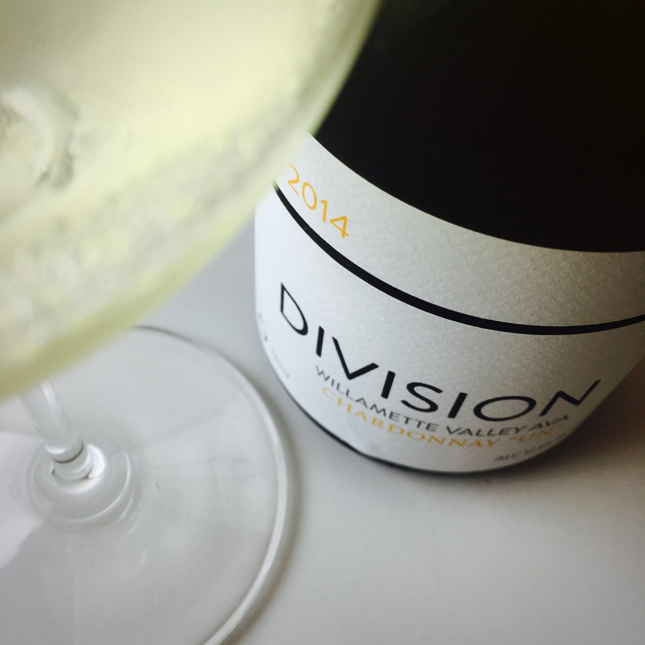 2014 Division Wine Company Chardonnay Un Willamette Valley