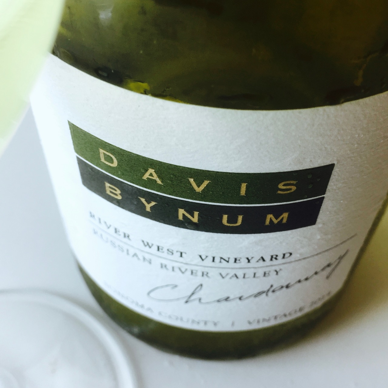 2014 Davis Bynum Chardonnay River West Vineyard Russian River Valley, Sonoma County