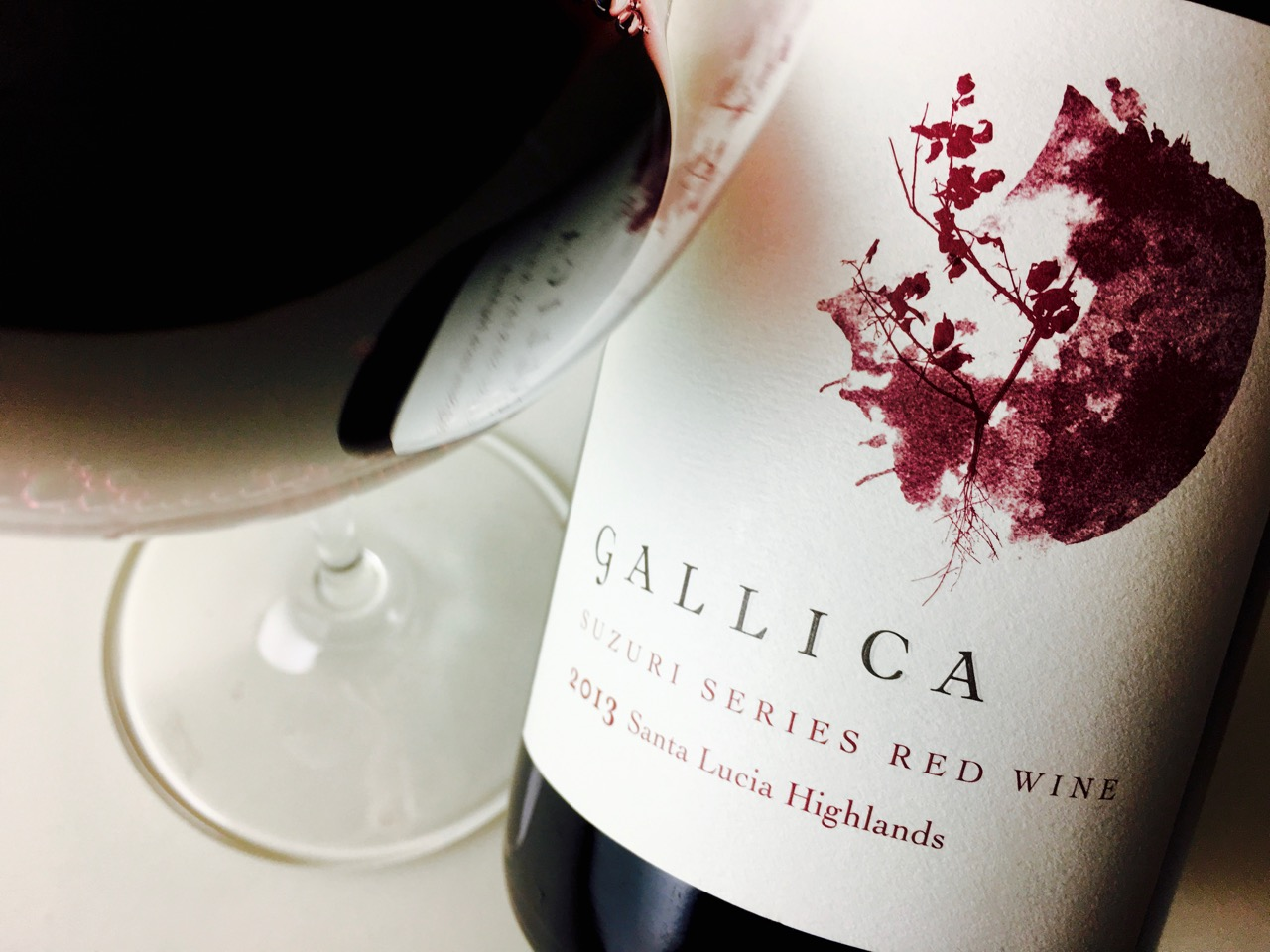2013 Gallica Red Wine Suzuri Series Soberanes Vineyard, Santa Lucia Highlands